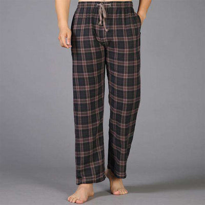 Mens Sleep Bottoms Pajama 100% Cotton 8 / S Sleep & Lounge