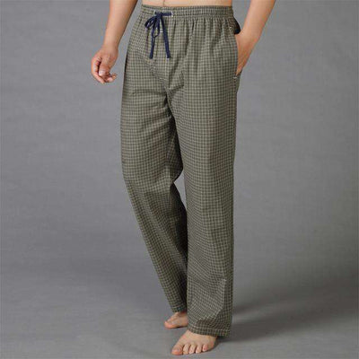 Mens Sleep Bottoms Pajama 100% Cotton 9 / S Sleep & Lounge