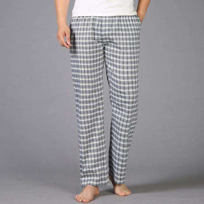 Mens Sleep Bottoms Pajama 100% Cotton Sleep & Lounge