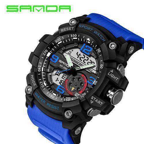 Military Watch Men Waterproof Sport Watch For Mens