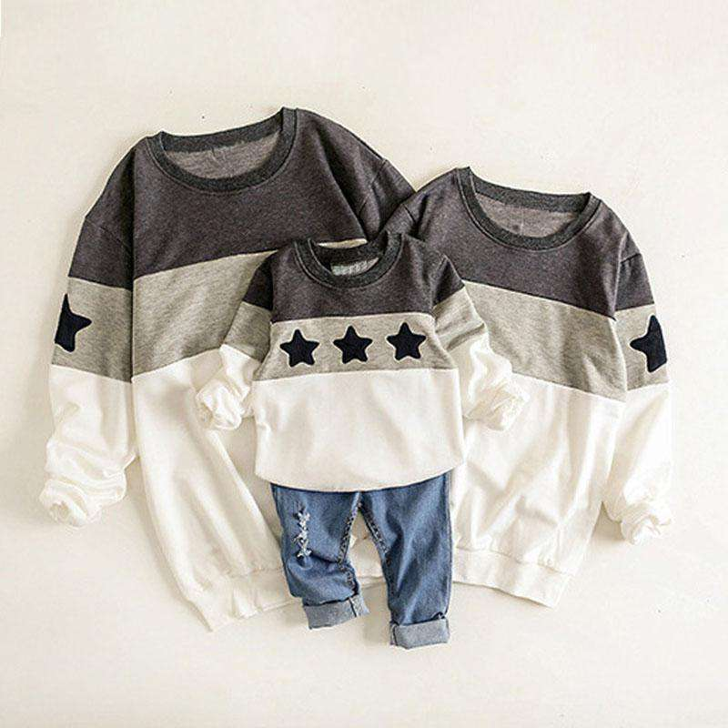 Mother Father Baby Cotton Family Matching