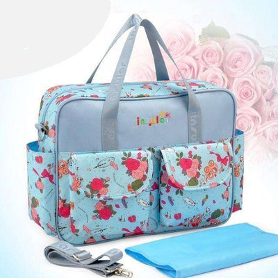 Multicolored Baby Diaper Bag Large-Capacity Style 5