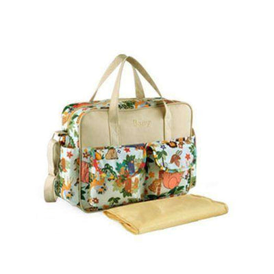 Multicolored Baby Diaper Bag Large-Capacity