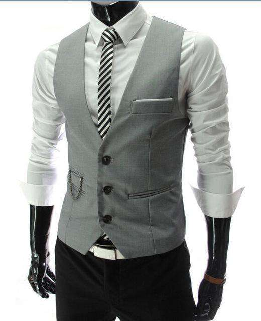 New Arrival Vests For Men Suits