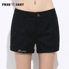 New Fashion Casual Cotton Shorts Black / 26 W.shorts