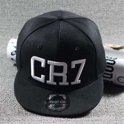 New Fashion Children Ronaldo Cr7 Neymar Njr Baseball Cap Cr7 Black