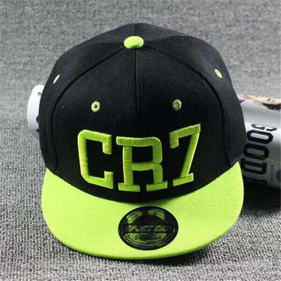 New Fashion Children Ronaldo Cr7 Neymar Njr Baseball Cap Cr7 Light Green