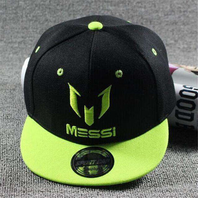 New Fashion Children Ronaldo Cr7 Neymar Njr Baseball Cap Messi Light Green