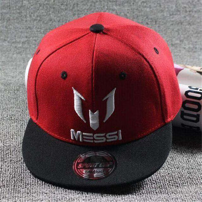 New Fashion Children Ronaldo Cr7 Neymar Njr Baseball Cap Messi Red