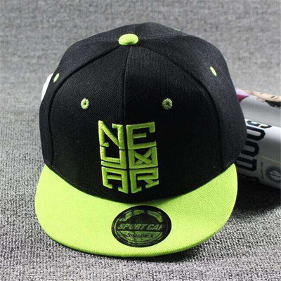 New Fashion Children Ronaldo Cr7 Neymar Njr Baseball Cap Nemal Light Green