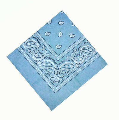 New Hip-Hop Cotton Blended Scarves Blue Accessories