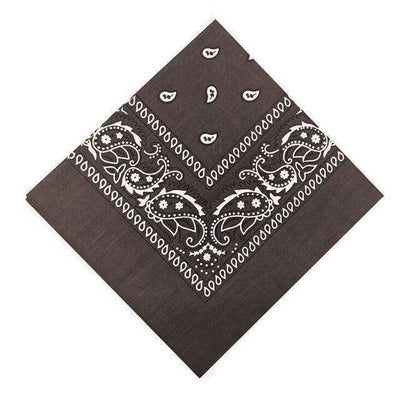 New Hip-Hop Cotton Blended Scarves Deep Coffee Accessories