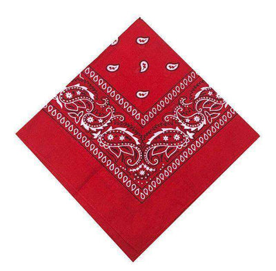 New Hip-Hop Cotton Blended Scarves Red Accessories