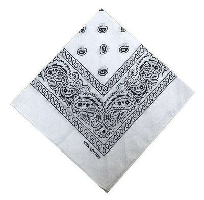 New Hip-Hop Cotton Blended Scarves White Accessories
