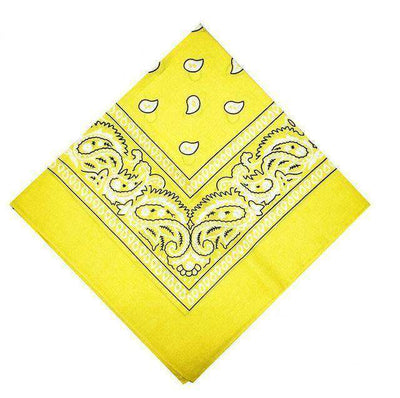 New Hip-Hop Cotton Blended Scarves Yellow Accessories