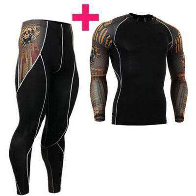 New Men Thermal Underwear Sets Army Green / S Long Johns