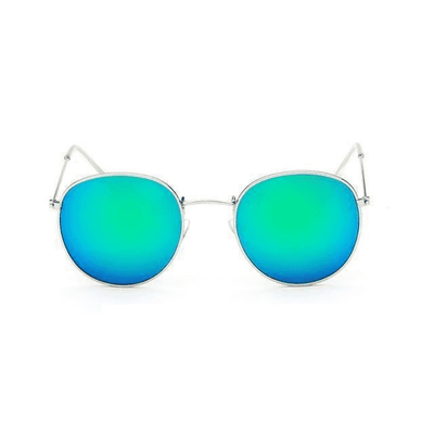 New Mirror Luxury Sunglasses Silverframegreen Eyewear