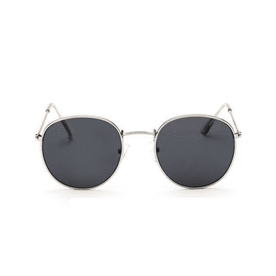 New Mirror Luxury Sunglasses Silverframegrey Eyewear