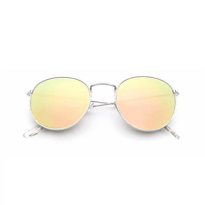 New Mirror Luxury Sunglasses Silverframepink Eyewear