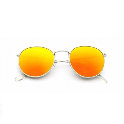 New Mirror Luxury Sunglasses Silverframered Eyewear