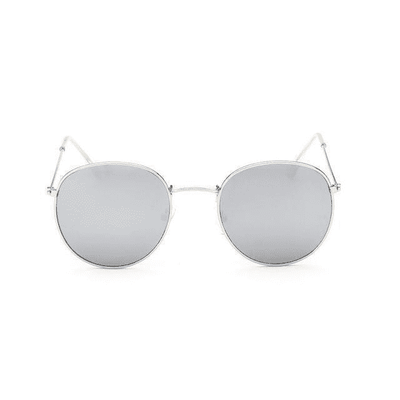 New Mirror Luxury Sunglasses Silverframewhite Eyewear