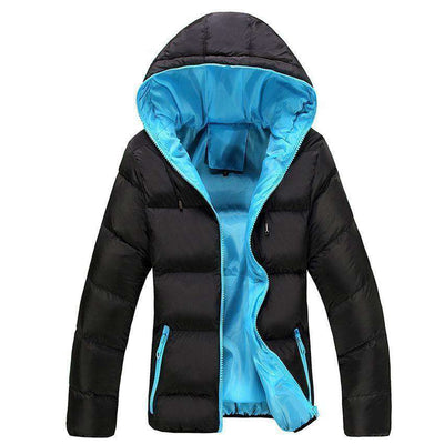 New Slim Hooded Thick Padded Jacket M.parkas
