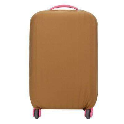Newest Enhanced Suitcase Protective Covers Coffee / S