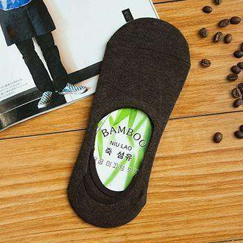 Non-Slip Silicone Invisible Cotton Socks E Socks
