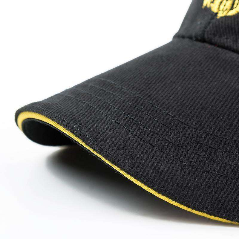Outdoor Baseball Cap 100% Cotton Black Baseball Caps