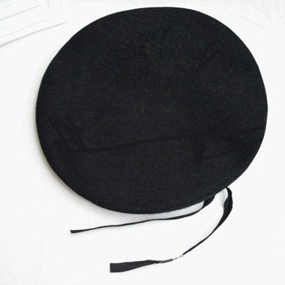 Outdoor Breathable Pure Wool Beret Hats Berets