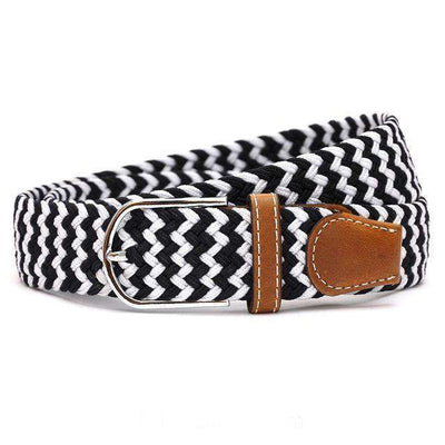 Plain Webbing Metal Buckle Belt 1 / 110Cm Belts