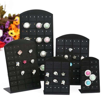 Plastic Earrings Display Stand Or Convenient Jewelry