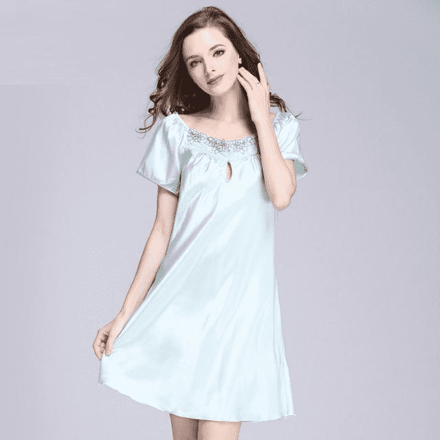 Printed Fashion Knee-Length Girl Sleepwear Sleep & Lounge