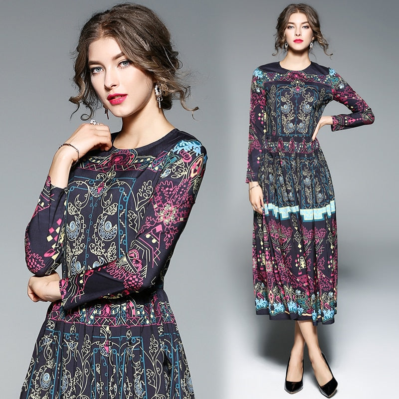 Elegant Floral Embroidery Runway Dress Women's Vintage Special Occasion Dresses sheer vestido de festa