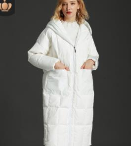 915a148d92c Thicker Casual Hooded Vintage Loose Winter Women Coat Female 2018 European  Plus Size Parka Hat 90