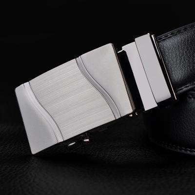 Real Genuine Leather Automatic Buckle Male Waistbands Belts Belt 16 / 110Cm Belts