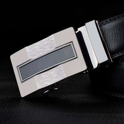 Real Genuine Leather Automatic Buckle Male Waistbands Belts Belt 17 / 110Cm Belts