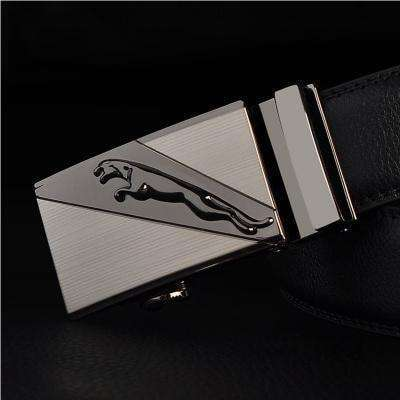 Real Genuine Leather Automatic Buckle Male Waistbands Belts Belt 3 / 110Cm Belts