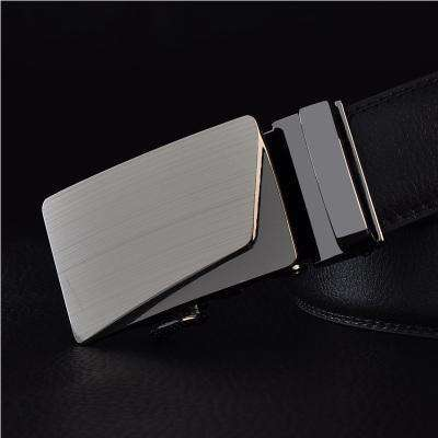 Real Genuine Leather Automatic Buckle Male Waistbands Belts Belt 4 / 110Cm Belts