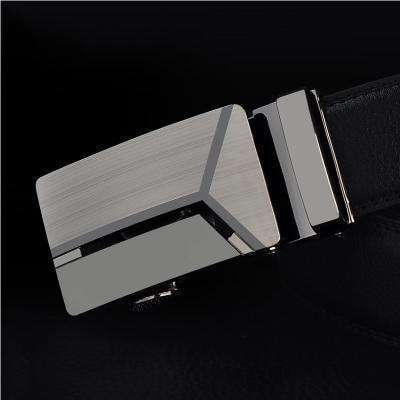 Real Genuine Leather Automatic Buckle Male Waistbands Belts Belt 7 / 110Cm Belts