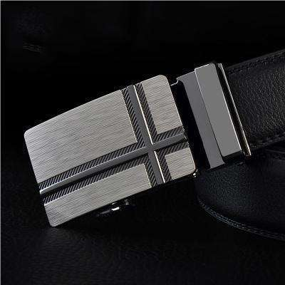 Real Genuine Leather Automatic Buckle Male Waistbands Belts Belt 8 / 110Cm Belts
