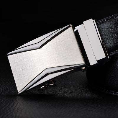Real Genuine Leather Automatic Buckle Male Waistbands Belts Belt 9 / 110Cm Belts