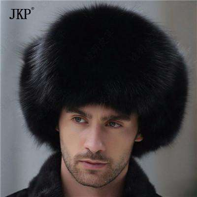Real Raccoon Fur Trapper Earflap Cap A / China Hats