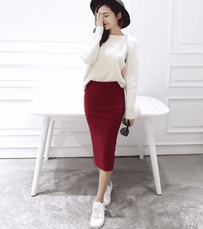 Sexy Chic Pencil Skirts Skirts