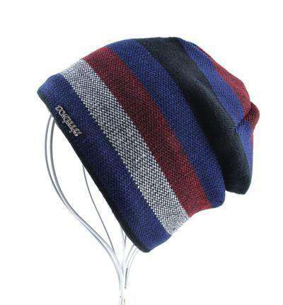 Skullies Knitted Wool Beanies Blue Beanies