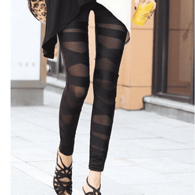 Slim Charming Bandage Leggings Leggings