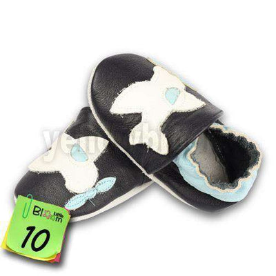 Soft Leather Infant Leather Skid-Proof Shoes 10 / 5