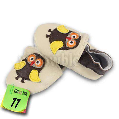 Soft Leather Infant Leather Skid-Proof Shoes 11 / 5