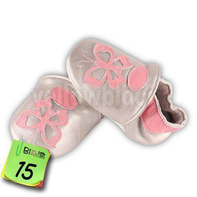 Soft Leather Infant Leather Skid-Proof Shoes 15 / 5