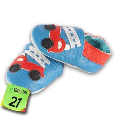 Soft Leather Infant Leather Skid-Proof Shoes 21 / 5